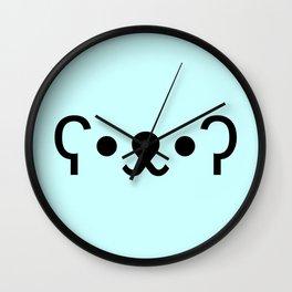 Bear Face Wall Clock