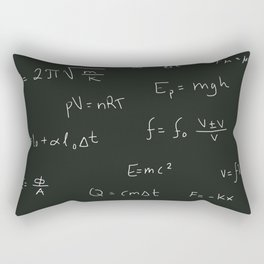 Physics Rectangular Pillow