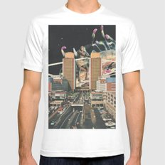 From Rome to Rio White Mens Fitted Tee MEDIUM