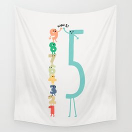 High 5! Wall Tapestry