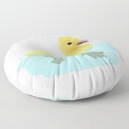 Never Trust a Duck - The Infernal Devices design Floor Pillow