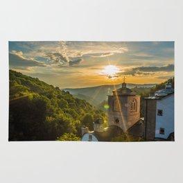 Monastery in Macedonia Rug