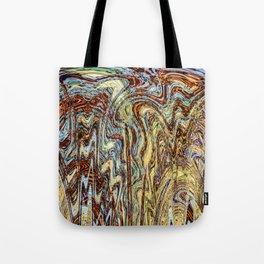 Scramble - Digital Abstract Expressionism Tote Bag