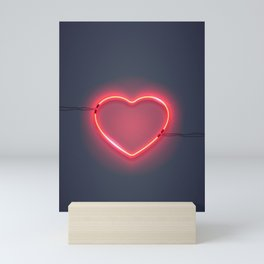 I HEART YOU Mini Art Print