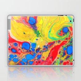 Marbling, Tie Dye Effect Abstract Pattern Laptop & iPad Skin