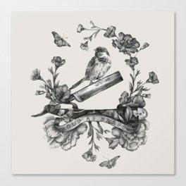 Bold as Brass Canvas Print
