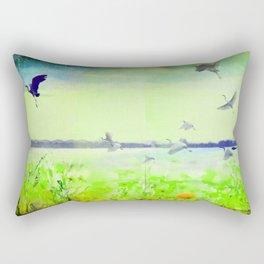 Like a Birds 1 Rectangular Pillow