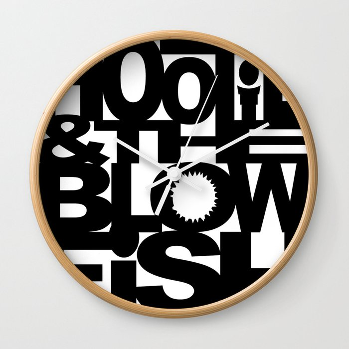 Hootie And The Blowfish Tour 2020.Hootie The Blowfish Logo Tour 2019 2020 Mamayo Wall Clock By Mixiao