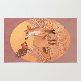 A Fox & A Friend Rug