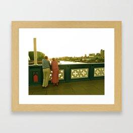London Lovers Framed Art Print