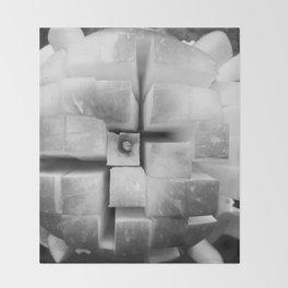 Cubed Apple Throw Blanket