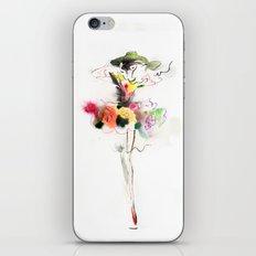 woman fashion iPhone & iPod Skin