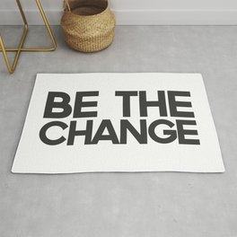 Be the Change Rug