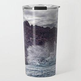 Pohoiki beach. Travel Mug