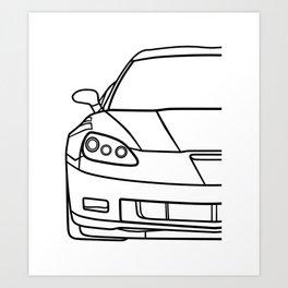 C6 Art Print
