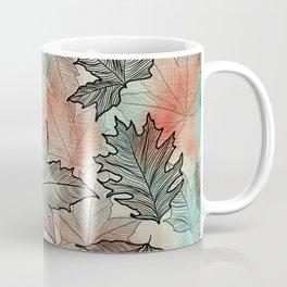 Layers of Leaves Coffee Mug