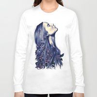 strong Long Sleeve T-shirts featuring Bloom by KatePowellArt