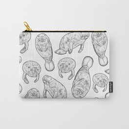 Manatees Carry-All Pouch