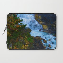 White Falls along the Berg Lake Trail in BC Laptop Sleeve