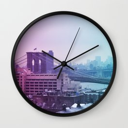 Spring in winter II Wall Clock