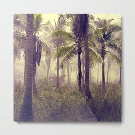 Tropical Forest Metal Print