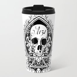 Halloween Ace of Spades Travel Mug