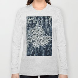 Silver sequins Long Sleeve T-shirt