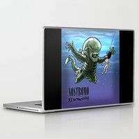 nirvana Laptop & iPad Skins featuring Nirvana : nevermind by Billy Allison