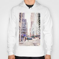 nyc Hoodies featuring NYC by Christine Workman
