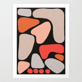 Shape Study II Art Print