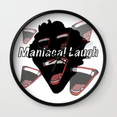 Maniacal Laugh Wall Clock
