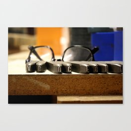 Type Canvas Print