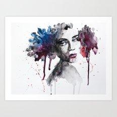 Rooney Art Print
