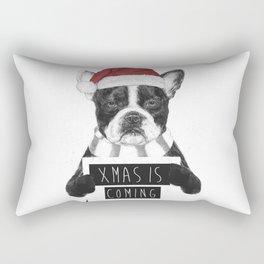 Xmas is coming Rectangular Pillow