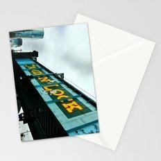 London Camden Town rail bridge Stationery Cards