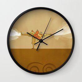 Avatar Aang Wall Clock