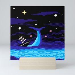 Sinking Back In Mini Art Print