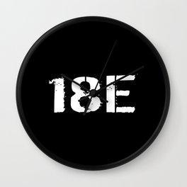 18E Special Forces Communications Wall Clock