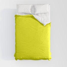PLAIN SOLID FLUORESCENT YELLOW - NEON YELLOW  Comforters