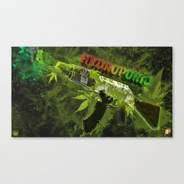Machine Gun 6 Canvas Print