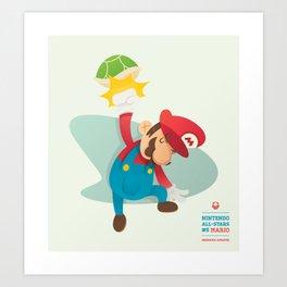 Mario | Nintendo All-Stars #5 Art Print