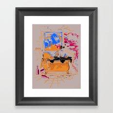 Midnight Crisis Framed Art Print