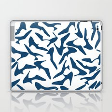 Shoes Navy on White Laptop & iPad Skin