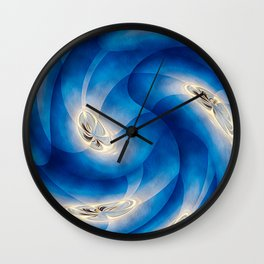 Indigo Activation Wall Clock