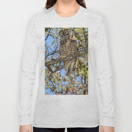 owl. Mexican spotted owl Long Sleeve T-shirt