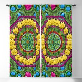 Bohemian chic in fantasy style Blackout Curtain