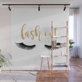 Lash Out Wall Mural
