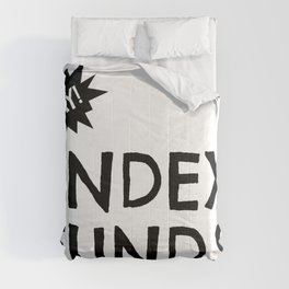 Yay Index Funds! Comforters