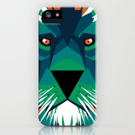 Aurora Lion iPhone Case