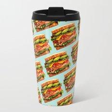 Sandwich Pattern - Turkey Travel Mug